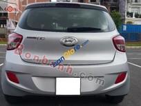 Cần bán xe Hyundai i10 1.0AT sản xuất 2014, màu bạc, xe nhập, số sàn