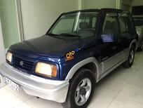 Bán xe Suzuki Vitara đời 2004, màu xanh lam, nhập khẩu chính hãng xe gia đình, giá 225tr