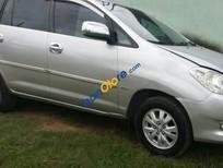 Cần bán lại xe Toyota Innova 2.0MT đời 2008, màu bạc xe gia đình