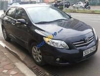Cần bán lại xe Toyota Corolla Altis 1.8 AT đời 2010, màu đen