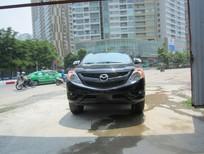 Cần bán Mazda BT 50 2015, màu đen, nhập khẩu, 595 triệu