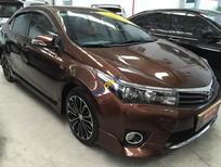 Bán Toyota Corolla Altis 2.0V sản xuất 2014, màu nâu, 895tr, đầy đủ phụ kiện