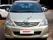 Cần bán xe Toyota Innova G 2.0MT năm 2009, màu vàng, 82.000km