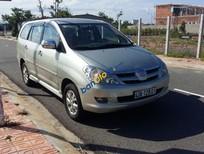Cần bán lại xe Toyota Innova G đời 2007, màu bạc xe gia đình