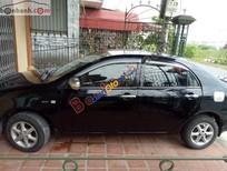 Cần bán lại xe Toyota Corolla altis 1.8MT đời 2003, màu đen, giá tốt