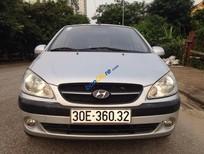 Bán Hyundai Getz 2009, màu bạc, nhập khẩu Hàn Quốc số sàn