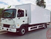 Đại lí phân phối độc quyền Hyundai HD120 5 tấn thùng 7.4m