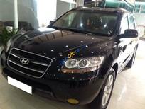 Bán Hyundai Santa Fe MLX sản xuất 2007, màu đen, xe nhập giá cạnh tranh