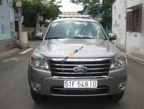 Cần bán gấp Ford Everest AT đời 2010, màu xám số tự động