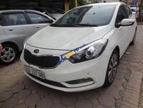 Cần bán xe Kia K3 2.0AT đời 2014, màu trắng, số tự động