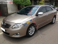 Bán xe cũ Toyota Corolla Altis 1.8G đời 2009, màu nâu còn mới, giá 530tr