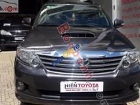 Bán xe Toyota Fortuner 2.7V đời 2014, màu xám, giá tốt