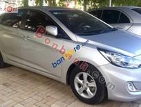 Bán xe cũ Hyundai Accent 1.4 AT đời 2011, màu bạc, nhập khẩu