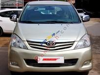 Bán xe cũ Toyota Innova G 2.0MT đời 2009, màu vàng