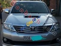 Cần bán xe Toyota Fortuner G đời 2013, màu bạc, giá tốt