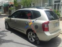 Cần bán gấp Kia Carens SX 2009, màu vàng, xe gia đình, giá 390tr
