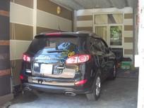 Bán xe Hyundai Santa Fe CRDi 2011, màu đen như mới giá cạnh tranh