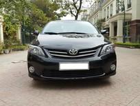 Cần bán xe Toyota Corolla altis 2.0V đời 2013, màu đen, chính chủ, giá chỉ 716triệu