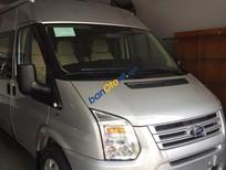 Bán ô tô Ford Transit Limousine 10 chỗ 2016 màu Bạc, giá tốt