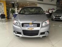 Chevrolet Cần Thơ: Bán Chevrolet Aveo 1.5 LT đời 2016, màu bạc, 445 triệu - LH 0944 480 460 -Phương Linh