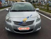 Cần bán lại xe Toyota Vios E đời 2012, màu bạc