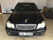 Bán xe Mercedes C180 đời 2003, màu đen, xe nhập, giá 297.09tr