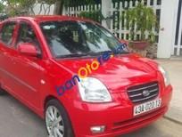 Cần bán Kia Morning AT đời 2007, màu đỏ