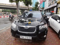 Cần bán Hyundai Santa Fe CRDi đời 2011, màu đen chính chủ giá cạnh tranh