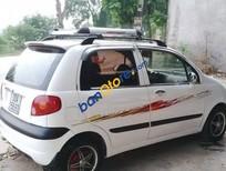 Cần bán gấp Daewoo Matiz MT đời 2008, màu trắng
