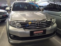 Cần bán Toyota Fortuner V 1 cầu 2012, màu bạc, 880tr