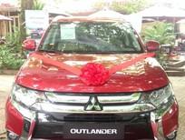 Mitsubishi Outlander 2.4L CVT 2016, màu đỏ, nhập nhật nguyên chiếc, giá ưu đãi
