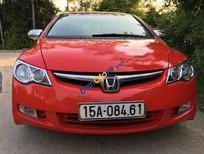 Cần bán xe Honda Civic 1.8MT đời 2008, màu đỏ, chính chủ, giá 375 triệu