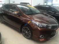 Toyota Đông Sài Gòn bán xe Altis 2.0V 2014, màu nâu, mới 95%, 22.000KM