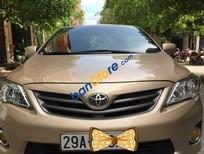 Cần bán Toyota Corolla XLI đời 2011, màu vàng số tự động