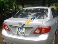Bán xe Toyota Corolla Altis AT sản xuất 2009, màu bạc chính chủ, 590 triệu