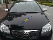 Bán xe cũ Toyota Vios 1.5 G đời 2007, màu đen chính chủ
