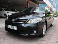 Bán xe cũ Toyota Corolla Altis 1.8AT đời 2011, màu đen chính chủ