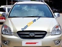 Bán ô tô Kia Carens SX 2.0AT đời 2010, màu vàng giá cạnh tranh