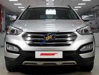 Bán xe Hyundai Santa Fe 2.4AT đời 2013, màu bạc, xe nhập