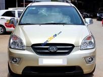 Cần bán gấp Kia Carens SX 2.0AT đời 2010, màu vàng số tự động