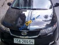 Cần bán gấp Kia Forte năm 2012, màu đen số sàn, giá tốt
