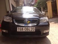 Bán Toyota Vios G đời 2005, màu đen