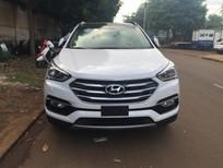 Bán ô tô Hyundai Santa Fe đời 2016, màu trắng