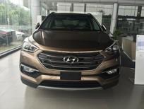 Bán Hyundai Santa Fe sản xuất 2016, màu nâu