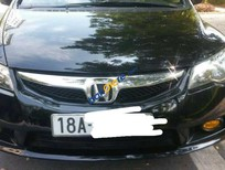 Bán xe Honda Civic 1.8 đời 2010, màu đen số sàn