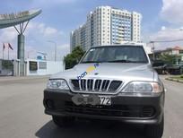 Cần bán gấp Ssangyong Musso đời 2003, màu bạc, xe nhập, giá tốt