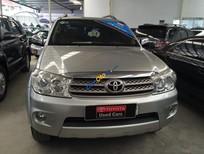 Toyota Đông Sài Gòn bán xe Fortuner V 2 cầu, đời 2011, màu bạc, xe mới 80%