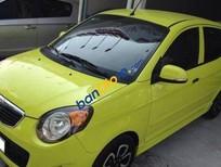 Cần bán Kia Morning MT đời 2009, màu xanh lá cây