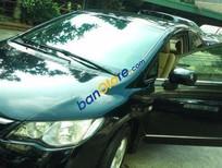 Cần bán Honda Civic AT đời 2008, màu đen
