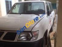 Cần bán xe Nissan Patrol MT đời 1999, màu trắng